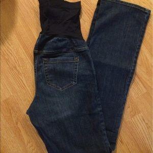 Liz Lange for Target Denim - 👶🏻 Liz Lange Maternity Bootcut Jean Size 4