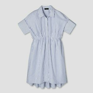Victoria Beckham Dresses - VBxT Striped Poplin Dress - Sold out online!