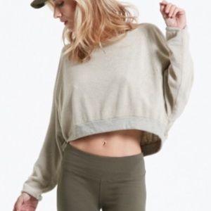Hard Tail Tops - NWT!!! Hard Tail Crop Sweatshirt