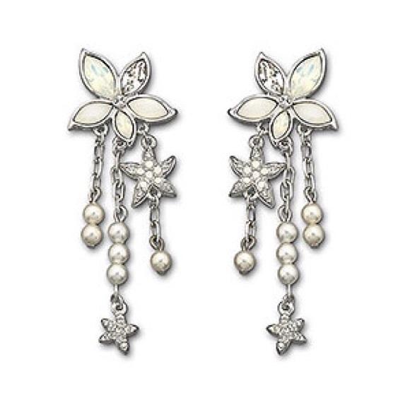 5a55f38ccc079 Swarovski confetti pierced earrings