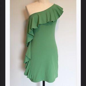 Susana Monaco Dresses & Skirts - New Susan Monaco One Shoulder Dress, XS