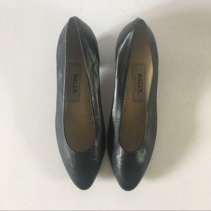 Bally Shoes - Vintage Black Heel | Bally