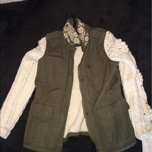 maison scotch Jackets & Blazers - Masion Scotch army green jacket