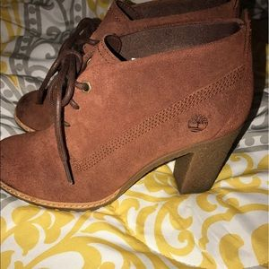 Timberland Shoes - Timberland booties worn twice