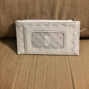 Handbags - White pleather card holder