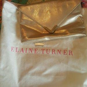 Elaine Turner clutch purse