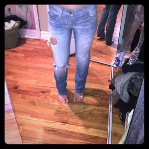 Gap distressed jeans