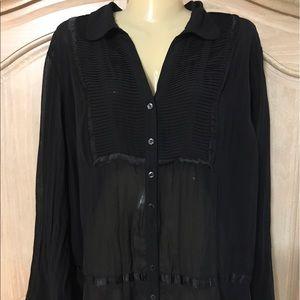 Element Tops - Designer elements elegant hobo blouse