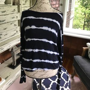 Hard Tail Tops - Hard Tail Open Back Long Sleeve Top