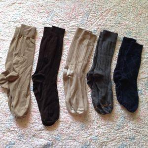 Mens Dress Socks - Bundle of 5