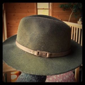 """Bailey Of Hollywood Accessories - Bailey of Hollywood """"Wardell"""" Olive Wool Hat"""