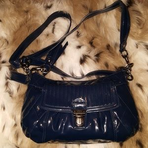 Quilted Coach Patent Leather Demi Body