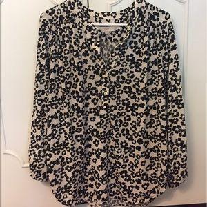 LOFT Tops - LOFT floral blouse