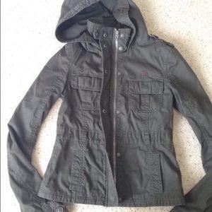 abercrombie kids Jackets & Blazers - Abercrombie Army Green Jacket