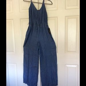 I Heart Ronson Pants - I Heart Ronson Denim Jumpsuit