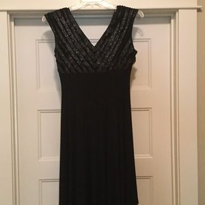 connected apparel Dresses - NWT Women's black dress by Connected apparel.