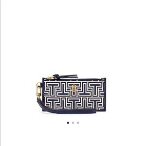 Tory Burch Handbags - TORY BURCH PAKER GEO-T ZIP CARD CASE