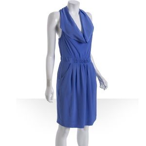 BCBGMaxAzria Dresses & Skirts - BCBG MAXAZRIA Silk racerback dress with pockets