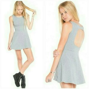 Brandy Melville Dresses & Skirts - BRANDY MELVILLE YURIA GREY DRESS