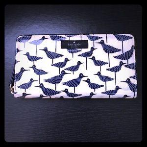 Kate Spade Daycation sandpiper wallet