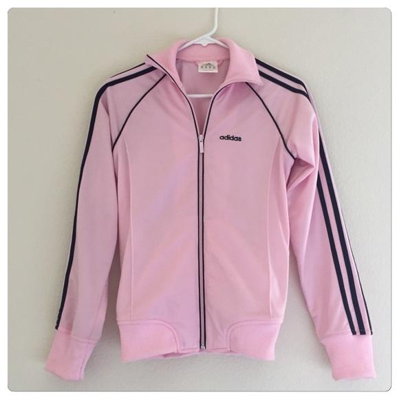 Adidas - Adidas pink yoga track jacket from ! wanda's closet on ...