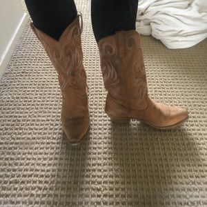 Durango Shoes - Real leather cowboy boots