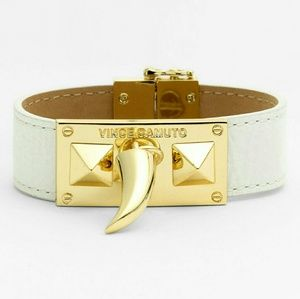 Vince Camuto Jewelry - NWT Vince Camuto Horn and Pyramid Leather Bracelet