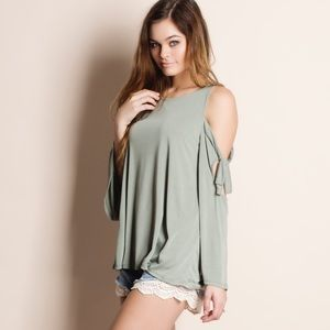 xx Cold Shoulder Top
