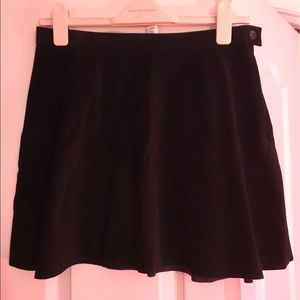 American Apparel Dresses & Skirts - American Apparel Suede Skater Skirt - Sz L