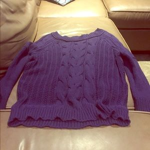 Gorgeous and like new super soft loft sweater