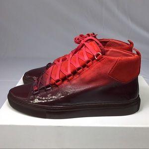 Balenciaga Shoes - Balenciaga Arena Sneakers - Dipped Collection-Red b51ec3a8f57b