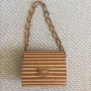 Vintage Madera bamboo bag