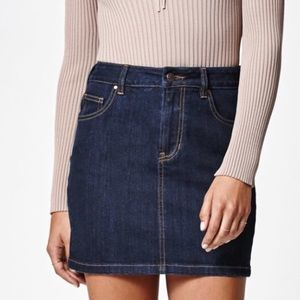 PacSun Dresses & Skirts - PACSUN denim skit