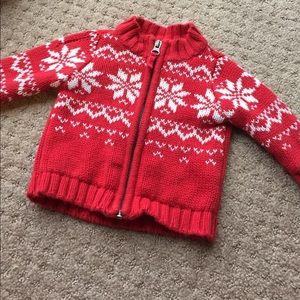snowflake sweater ❄️