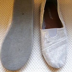 Other - Silver Slip Ons!