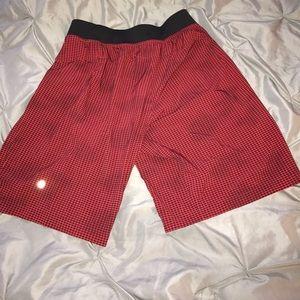 lululemon athletica Other - Lululemon men's red and black shorts