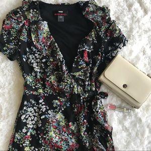Miss Sixty Dresses & Skirts - Miss Sixty Floral Wraparound Dress