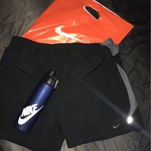 Nike Other - Nike Compression gym Shorts. Black and grey.