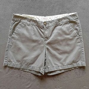 Merona Gray Cotton Shorts