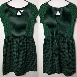 Cooperative Dresses & Skirts - Cap sleeved Polkadot Dress