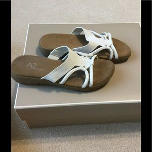 AEROSOLES Shoes - White sandals from Aerosoles