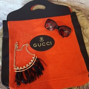 Gucci Handbags - New Gucci Shopper Tote from 60's Never Been Used