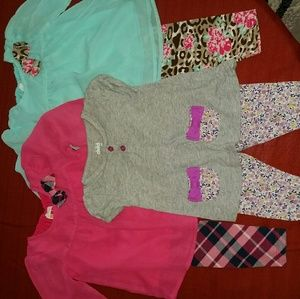 healthtex Other - 😎3 Adorable 6-9 month Baby Girl Outfits👌