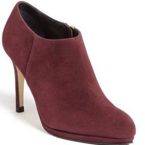 LK Bennett Shoes - L.K. Bennett $200* Doris Zip Suede ankle Booties