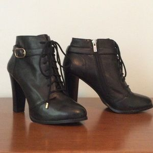 Banana Republic Shoes - Ankle semi chunky heel boots by Banana Republic