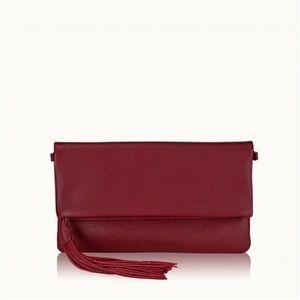 Gigi New York Stella Fold-over clutch