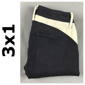3x1 Pants - ☮️3x1 black tan skinny stretch pant in size 24