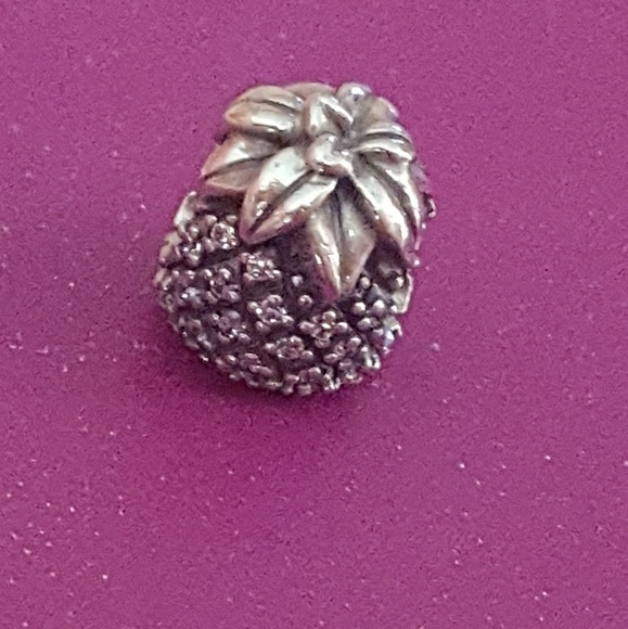 9a13adf38 Pandora Jewelry | Sparkling Pineapple Charm | Poshmark