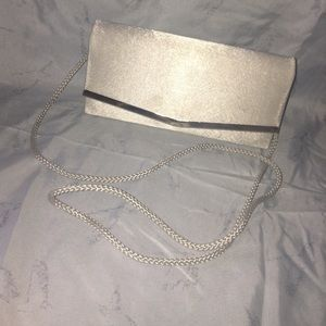 Lovely Silver Small Formal Purse/Clutch