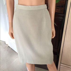 Louis Feraud  Dresses & Skirts - 💐NWOT...LOUIS FERAUD 💯 wool...sage pencil skirt